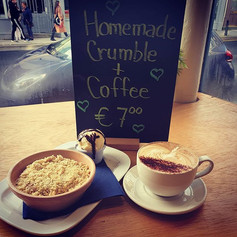Crumble & Java Republic Coffee