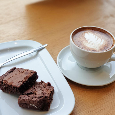 Java Republic Coffee & the Perfect Treat...Brownies!