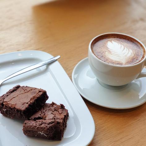 Java Republic Coffee & the Perfect Treat...Brownies!