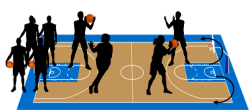 משחקוני מסירות ותפיסות כדורסל