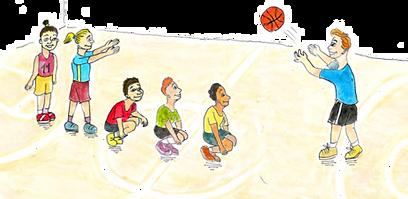 יגמשחקוני מסירות ותפיסות כדורסל