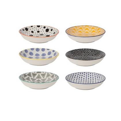 Bits & Dots Stamped Pinch Bowl Set