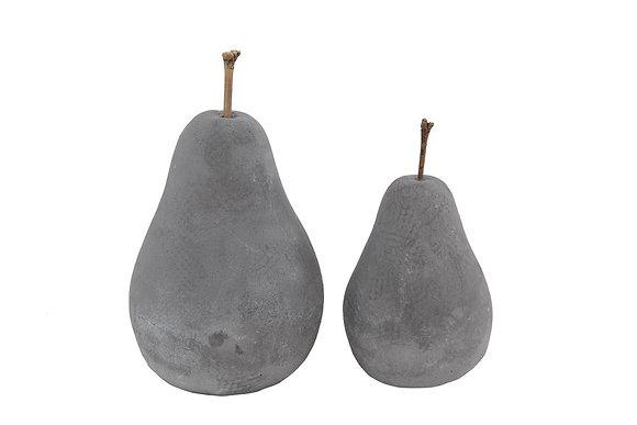 Cement Pear Decoration