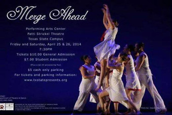 Multimedia piece, Krummi performed by Merge Dance Company