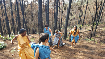 Dancing in new work by Ana Baer & Rocio Luna Urdaibay