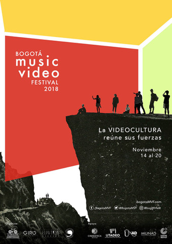 Above the light selected at the Bogota Music Video Festival 2018