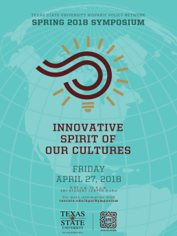 Symposium The Innovative Spirit of our Cultures at TXST.