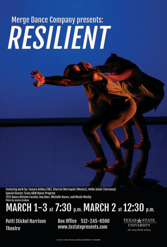 Artist residency at Merge Dance Company