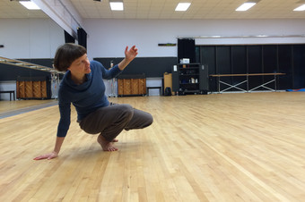 Artist residency at Texas State University Department of Dance