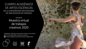 WECreate screening and presentation at Muestra Virtual de Trabajos Creativos produced by Cuerpo Acad