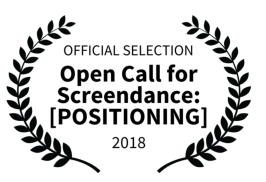 "Home selected for S.E.T. me free Screendance ""Positioning"" Festival"