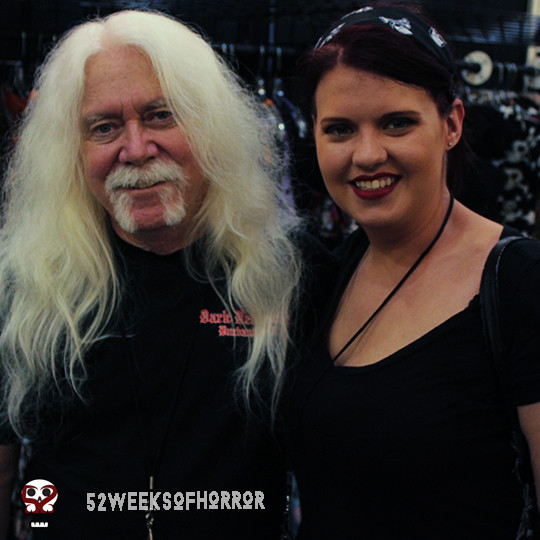 Del Howison from Dark Delicacies and Haley