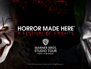 "Warner Bros. Studio Tour Announces Full Slate for ""Horror Made Here: A Festival of Frights&quot"
