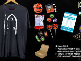 It's Time For An October Giveaway From Comet TV & Charge! (CLOSED)