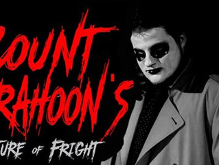 Count Drahoon's Feature of Fright - An Interview with a Vampire
