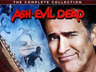 ASH VS EVIL DEAD THE COMPLETE COLLECTION on Blu-ray & DVD 10/16