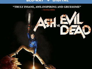 Ash VS Evil Dead: The Complete Third Season On Blu-ray And DVD Today!