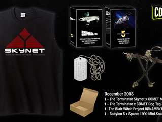 COMET & CHARGE! December Giveaway!(CLOSED)