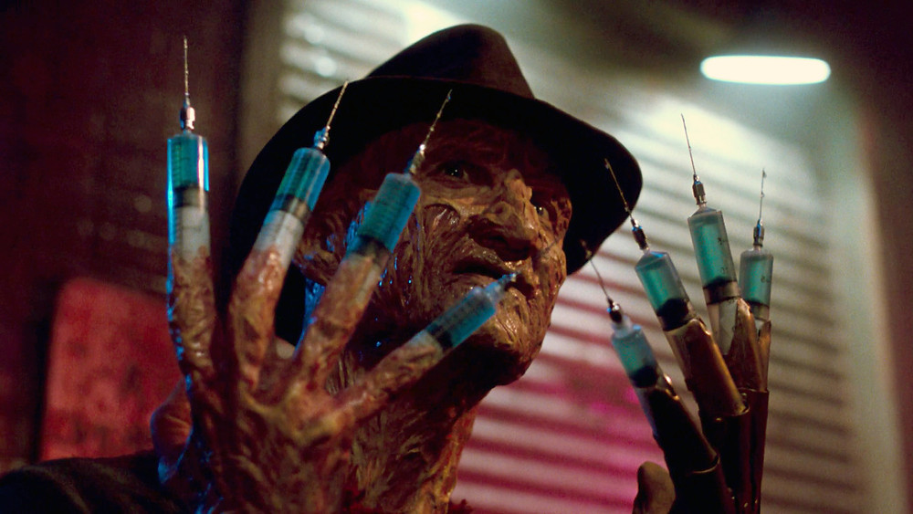 Freddy is ready to give you your medicine