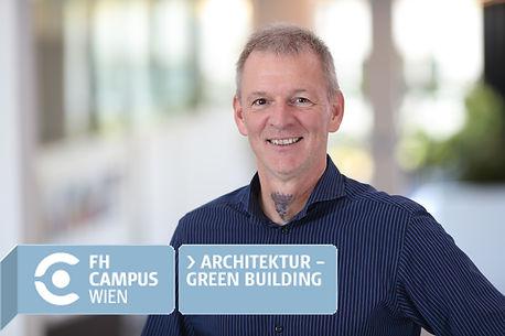 Architekt Martin Aichholzer Studiengangsleiter Architektur - Green Building FH Campus Wien