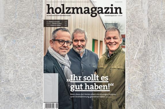 HOLZMAGAZIN 08.2018