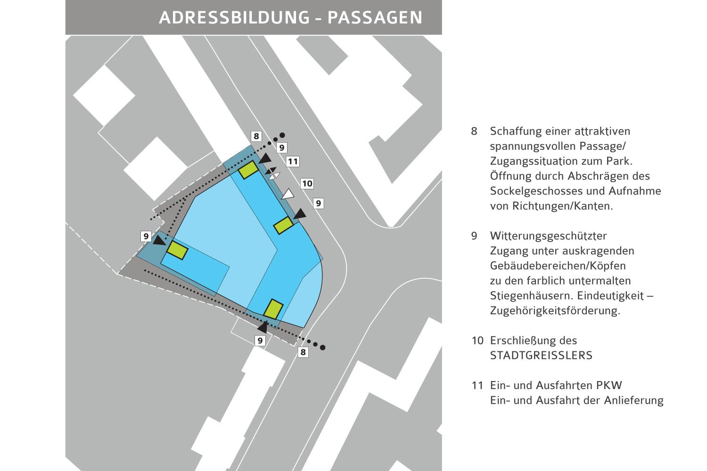 Wohnbau Landstr. Hauptstrasse