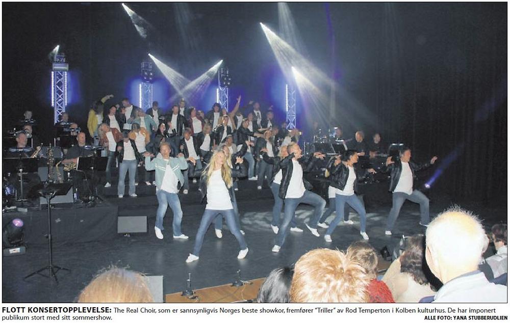 1 Artikkel The Real Choir - Kolben Kulturhus