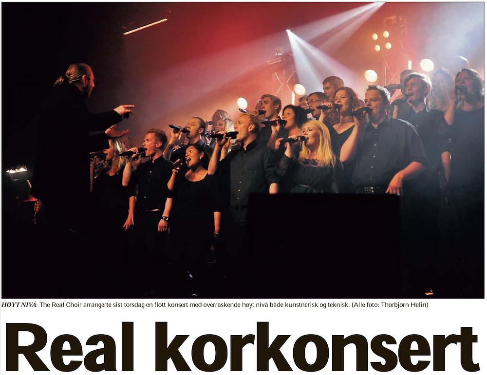 1 Artikkel fra konsert i Rakkestad