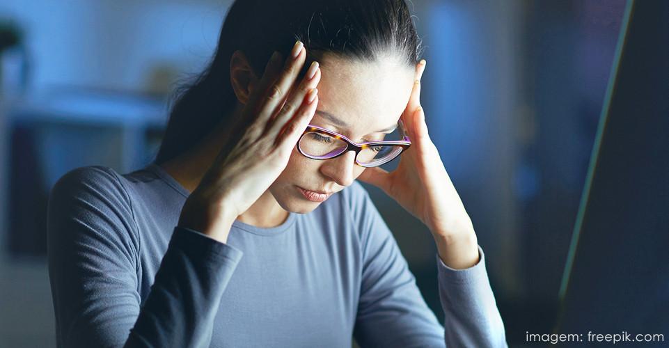 esgotamento mental é alerta de maus hábitos
