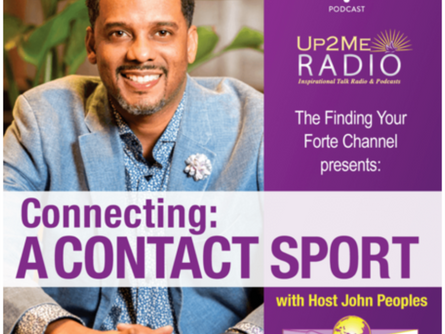 Connecting: A Contact Sport with Host John Peoples and Guest Tamika Curry Smith