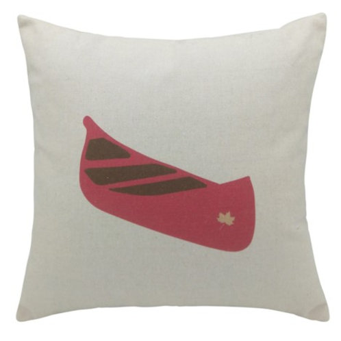 Red Canoe cushion
