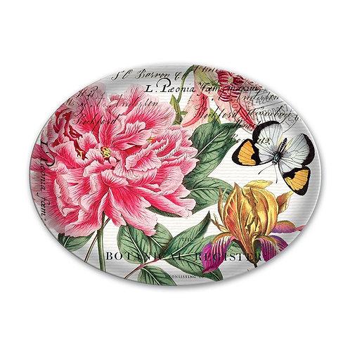 Michel Design Works - peony glass soap dish