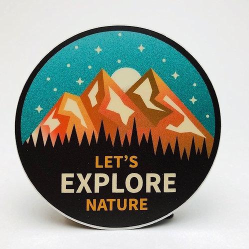 Stickers Northwest Inc -  Let's Explore Nature