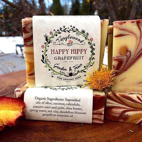 Tanglewood Garden + Farm - happy hippy bar soap