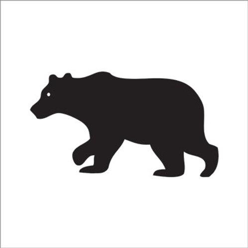 Francoise Paviot Dinner Napkin - Black Bear