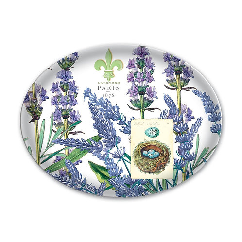 Michel Design Works - lavender rosemary glass soap dish