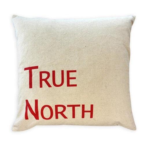 True North cushion red