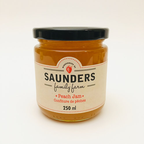 Saunder's Family Farm Peach Jam - 250mL