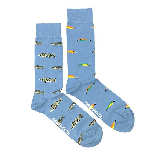 Friday Sock Co - Men's fish + lures