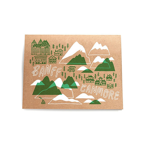 Forest & Waves - Banff + Canmore card