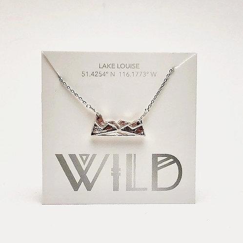 Wild - Lake Louise Mountain necklace
