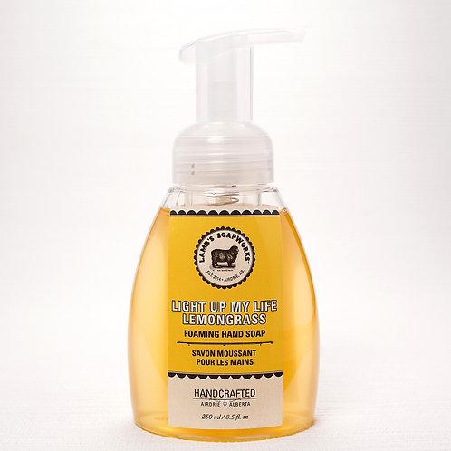 Lamb's Soapworks - moisturizing foaming hand soap lemongrass