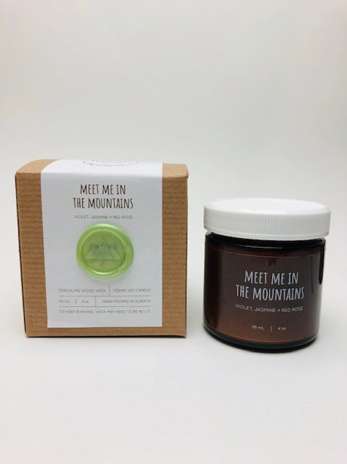 Branches Brand Candle - Meet Me In The Mountains