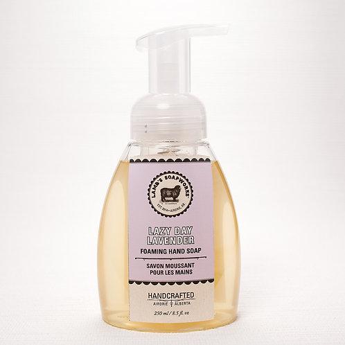 Lamb's Soapworks - moisturizing foaming hand soap lavender