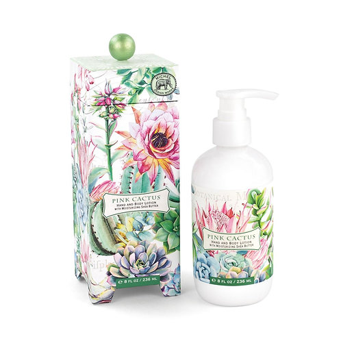 Michel Design Works - pink cactus boxed lotion