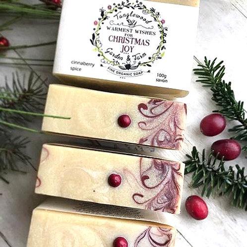 Tanglewood Garden + Farm - Christmas Joy bar soap
