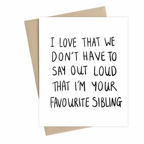 Little May Papery - fave sibling