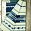"""Thumbnail: Heartprint Threads Queen Blanket - 80 x 92"""" new blue"""