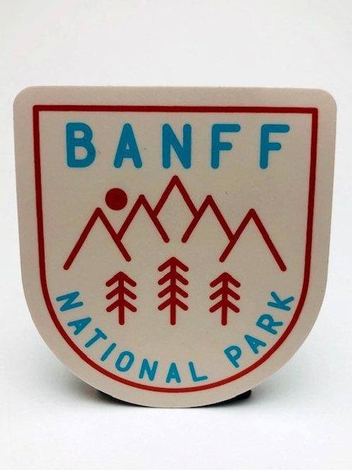 Stickers Northwest Inc -  Banff National Park crest