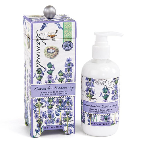 Michel Design Works - lavender rosemary boxed lotion